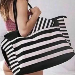 Victoria Secret large tote with pouch .